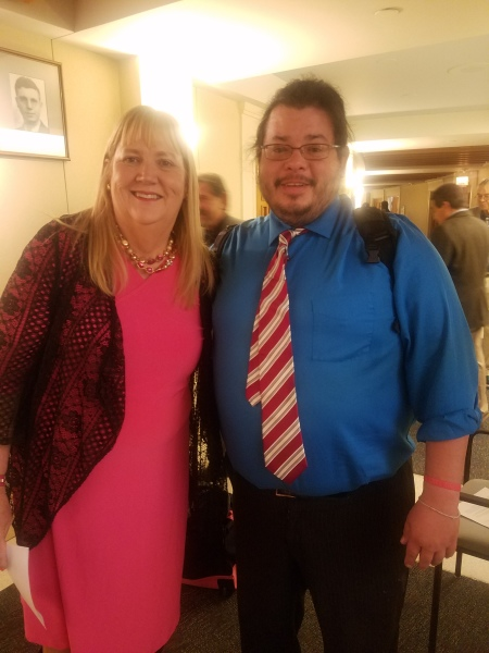 New Mexico State Representative Elizabeth Liz Thomson has meeting with Team Up Cancer Founder Rico Dence