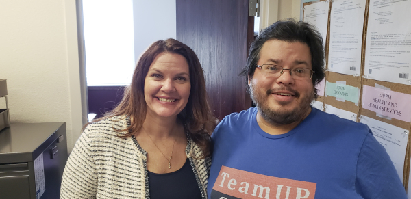 Nevada Assemblywoman Michelle Gorelow has meeting with Rico Dence Founder of Team Up Cancer