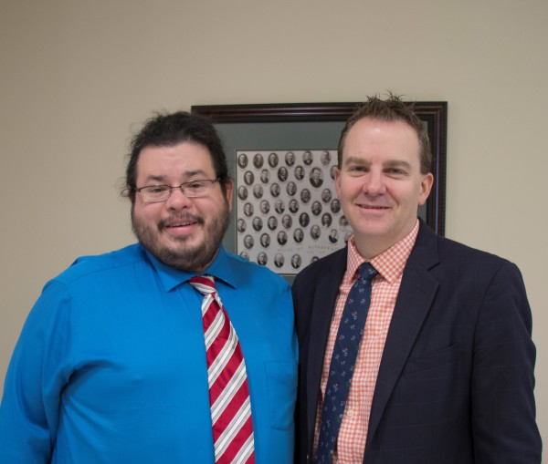 Utah State Senator Lincoln Fillmore has meeting with Rico Dence Founder of Team Up Cancer